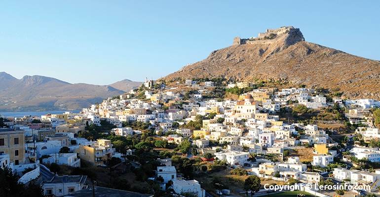 Information about Leros Island