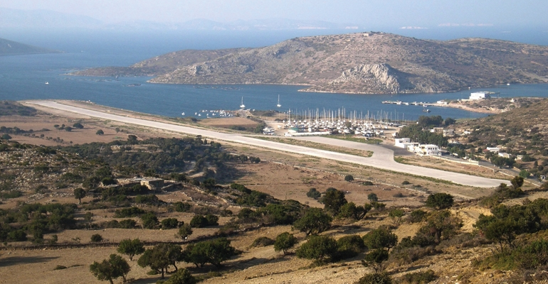 Airport of Leros